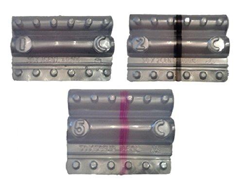 Blister per monete euro - Kit 150 blister portamonete misti da 1-2 - 5 centesimi (3 x 50)