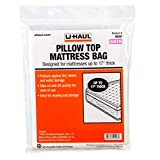 "U-Haul Pillow Top Queen Mattress Bag – Moving & Storage Cover for Mattress or Box Spring – 99"" x 60"" x 17"""