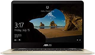 ASUS ZENBOOK FLIP 14 UX461FA-E1129T - INTEL CORE i7-8565U 1.8GHz, 8GB RAM, 512GB SSD, 14.0 FHD TOUCH SCREEN X360, WINDOWS 10, ENGLISH KB, GOLD COLOUR