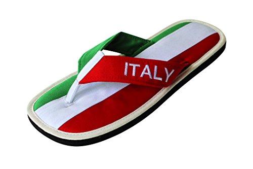 Nawemo Zimt-Slipper Italien, WM-Edition (Zimtlatschen), Größe 40/41