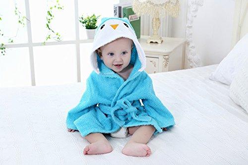 Bébé Robe Serviette, répondre temps Dessin animé Animal pour bébé à capuche Peignoir de bain Spa Serviette de barboteuse