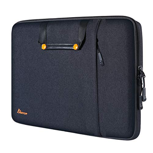SIMTOP 13-13.5 Inch Laptop Sleeve Compatible for New Macbook Air/Pro M1/A2337 A2338, 14' HP ASUS VivoBook ZenBook/Lenovo Ideapad Thinkd Pad/Surface Book/Dell XPS Latitude/Acer Chromebook Case