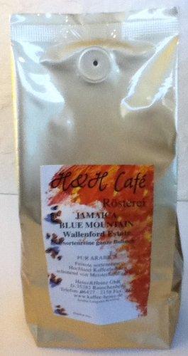 Kaffeebohne JAMAICA BLUE MOUNTAIN PREMIUM frisch geröstet 300 g