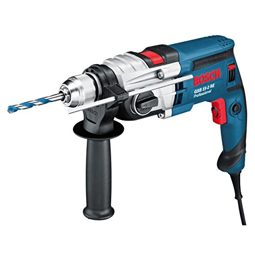 Bosch Professional Perceuse A Percussion Filaire GSB 19-2 RE (850 W, Couple nominal : 5,2/2,0 Nm,...