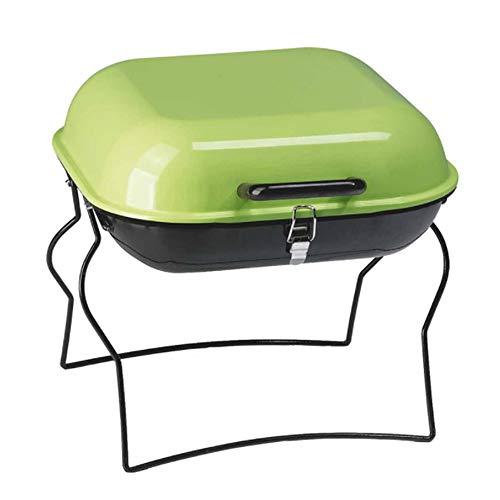 ZTXY Mini BBQ Estufa al Aire Libre Fumador Barbacoa Plegable portátil Parrilla móvil Parrillas para Acampar al Aire Libre jardín Senderismo picnics mochilero