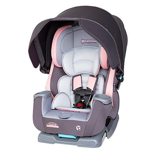 Baby Trend Cover Me 4 in 1 Convertible Car Seat, Quartz Pink