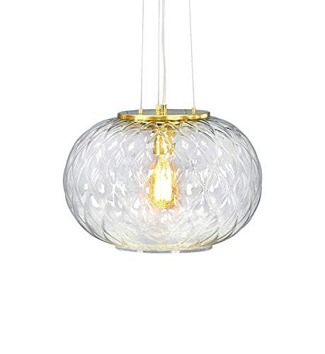 MARKSLOJD 107003 Luminaire, Glass, 60 W, Brass