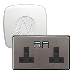 Begin your home automation adventure with the Power Starter Kit from Lightwave. With a Link Plus and a Smart Series Socket, you'll have everything you need to start controlling your lighting and appliances This starter kit is simple to install and re...