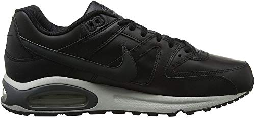 Nike Herren Air Max Command Leather Turnschuhe, Schwarz (Black/Anthracite/Neutral Grey 001), 42.5 EU
