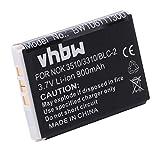 vhbw Akku passend für CipherLab 8000, 8200, 8300, CPT-8300