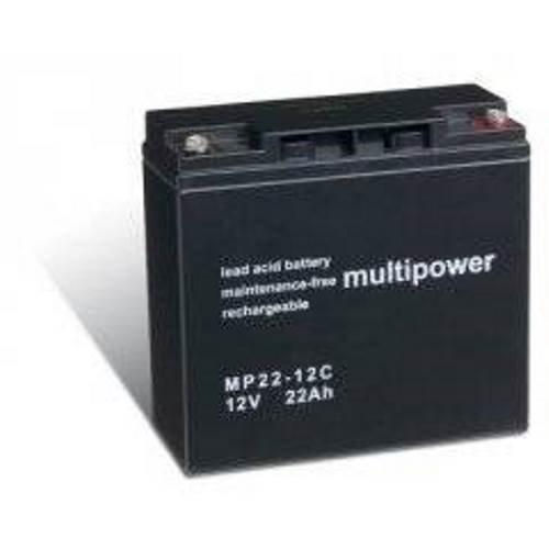 Preisvergleich Produktbild Heib Qualitätsakku Akku für Panasonic LC-X1220P / Varta 519901 12V 22Ah (zyklenfest) - 12V - Lead-Acid - PB