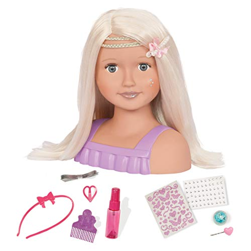 Our Generation BD37078Z Trista, Mezzo Busto da pettinare e Decorare OG Dolls