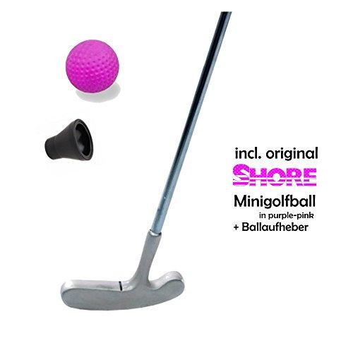 Mini hc-handel 'Lady' 3 teilig (Con original SHORE Minigolfball-Palla impianto) e speciale minigolf-pick-up   Marca: Golfas