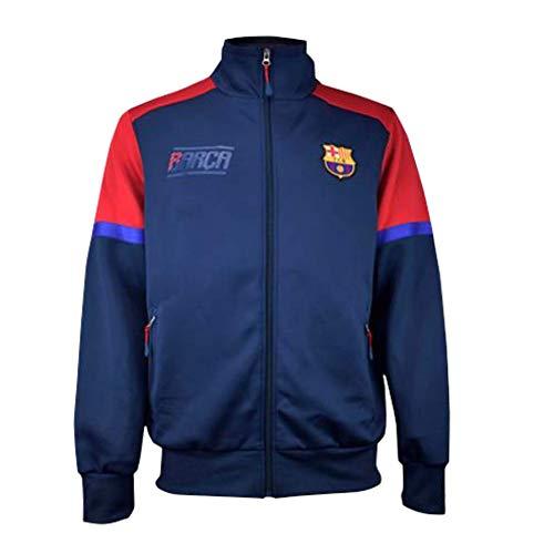 Sudadera Plus nº 2 FC. Barcelona - Producto con Licencia - Niño Talla 14 - Medidas Pecho 46 - Total Largo 57 cm. - 100% Polyester