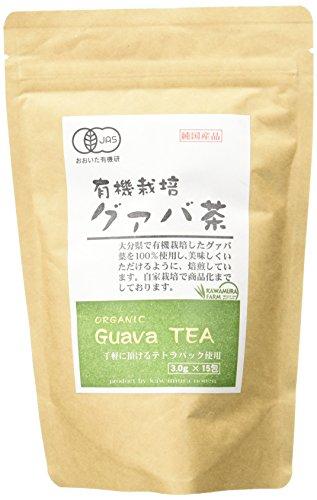 河村農園 有機栽培 グアバ茶 15包