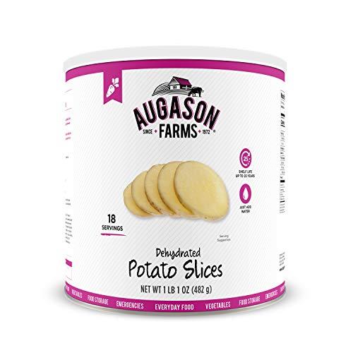 Augason Farms Dehydrated Potato Slices 1 lb 1 oz No. 10 Can