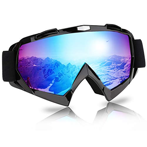 Karpal Skibrille Snowboard Brille für Wintersportarten mit Beschlag- und UV-Schutz Damen Herren Kinder für Skifahren Snowboard