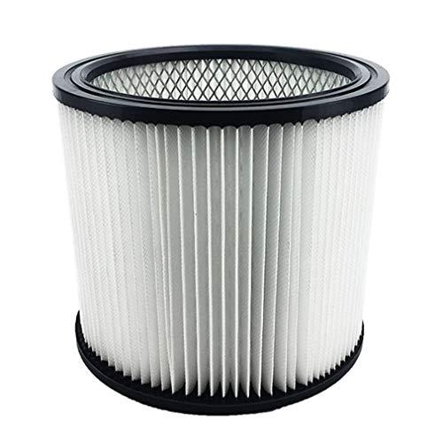 WXZQ Shop Vac 90304 9030400903-04-00 Cartucho de Filtro de aspiradora de Repuesto Blanco