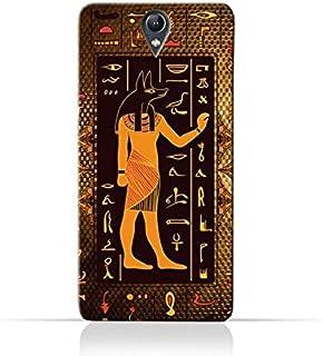 Lenovo Vibe S1 Lite TPU Silicone Case with Egyptian Hieroglyphs Pattern