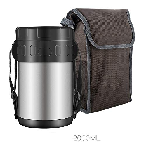 Great Features Of DEJA Food Flask,Vacuum Insulated Stainless Steel Lunch Thermos,Insulated Container...