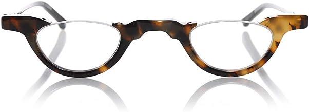 eyebobs Topless Unisex Premium Reading Glasses for Men and Women | Half Rim Eye Glasses