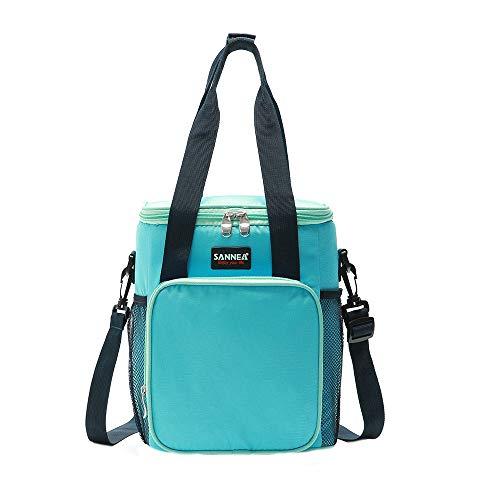 KonJin Kühlbox faltbar Lunchtasche Mittagessen Tasche Thermotasche Isoliertasche Picknicktasche für Lebensmitteltransport Arbeit Picknick