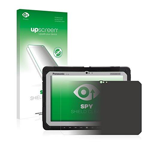 upscreen Anti-Spy Blickschutzfolie kompatibel mit Panasonic Toughbook CF-20 Privacy Screen Sichtschutz Bildschirmschutz-Folie