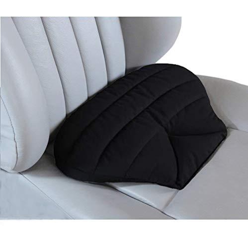 Big Ant Sitzkissen Auto, Autositzkissen Keilkissen Auto Sitzauflage Kissen für Autositz Universal für Alles Fahrzeug, Bürostuhl und Rollstuhl (Schwarz)