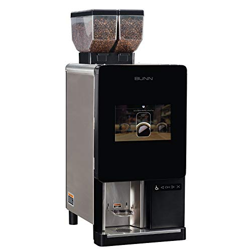 Why Choose Bunn 44400.0103 Sure Immersion Model 220 Bean to Cup Coffee Brewer, Two 3 lb Hoppers, Pro...