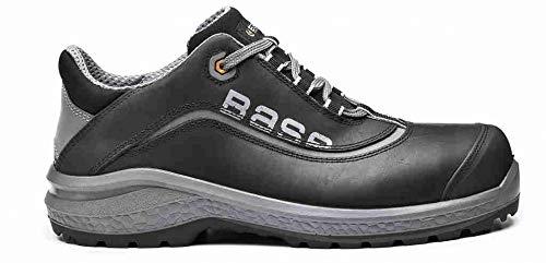 Base Protection, BE-FREE Calzado de Seguridad para Hombres y Mujeres, Negro, Talla 45