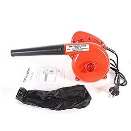 Aspirateur Souffleur Broyeur 700W 13000r/min Souffleur Electrique avec Sac 220V Souffleur Feuille