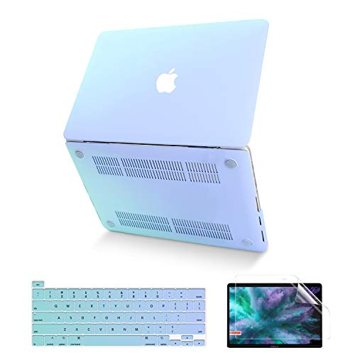MacBook Pro 13 Inch Case 2020 2019 2018 2017 2016 Release A2338 M1 A2251 A2289 A2159 A1989 A1706 A1708, Anban Ultra Slim Plastic Hard Cover with Keyboard Cover for Pro 13 with/NO Touch Bar, Touch ID