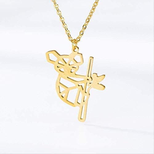 NC188 Necklace Tattoo Animal Pendant Necklace Choker Stainless Steel Chain Australian Pendant Necklace For Women Fashion Jewelry