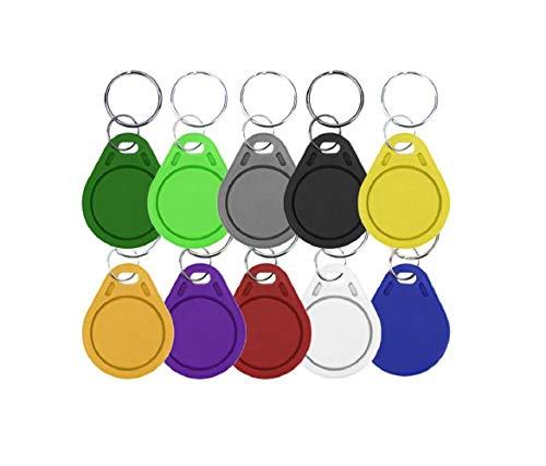 Waizmann.IDeaS® 1x RFID NFC Tag 1K 13,56 MHz Transponder Anhänger Schlüsselanhänger Wasserdicht
