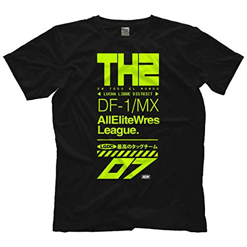 T-Shirt The Hybrid 2 - Lucha Libre District Offiziell Bis 5XL !