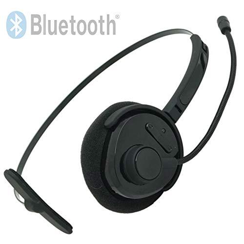 TronicXL Bluetooth V4.1 + EDR Headset Kopfhörer zb für Telefon Callcenter Smartphone Playstation 3 Huawei Samsung Pc