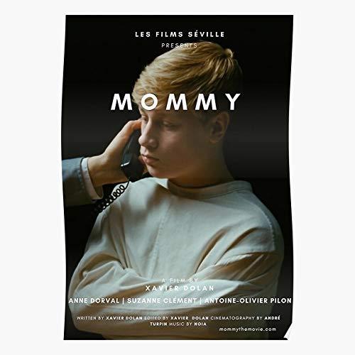 Mommy Dolan Xavier Regalo para la decoración del hogar Wall Art Print Poster 11.7 x 16.5 inch