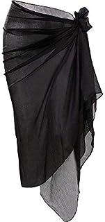 HESTYA ملابس السباحة النسائية Pareo ملابس السباحة الشاطئ التفاف متدرج اللون بيكيني سارونغ