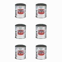 アサヒペン 油性用丸缶 1L KMP-1 6個セット