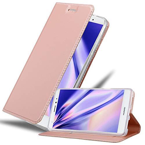 Cadorabo Funda Libro para Huawei Mate S en Classy Oro Rosa - Cubierta Proteccíon con Cierre Magnético, Tarjetero y Función de Suporte - Etui Case Cover Carcasa