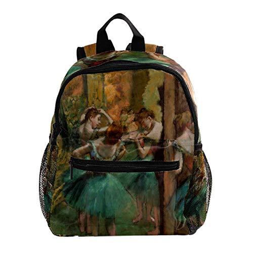 Kid Child Girl Cute Patterns Printed Backpack School Bag,Dancing Woman