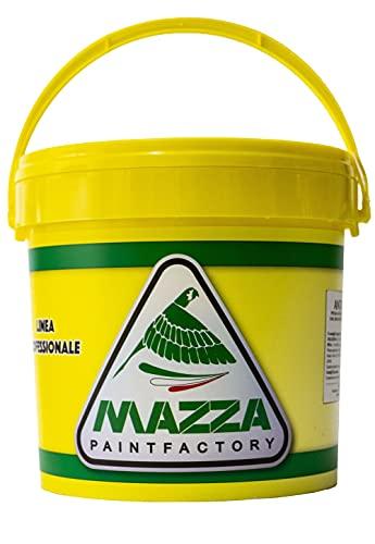 COLORIFICIO MAZZA Guaina Liquida Impermeabilizzante Monocomponente Colorata Pedonabile All'Acqua (Bianca Gu0000), 5 litri