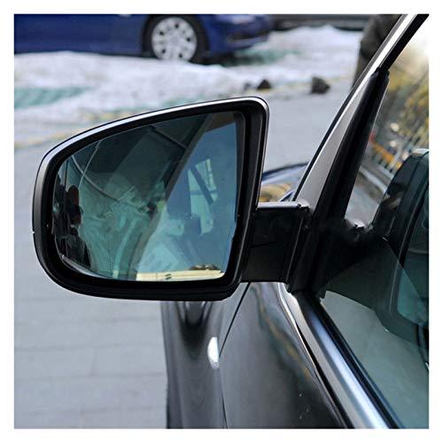 ZIS Lente Retrovisable De 4 Líneas del Espejo De La Retrovisor del Coche Ajuste Adecuado para BMW X5 X6 E70 E71 2008-2013 (Color : A Pair)