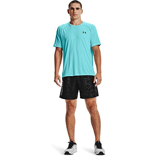 Under Armour UA Heatgear Racer - Camiseta Deportiva Transpirable para Mujer, cómoda...