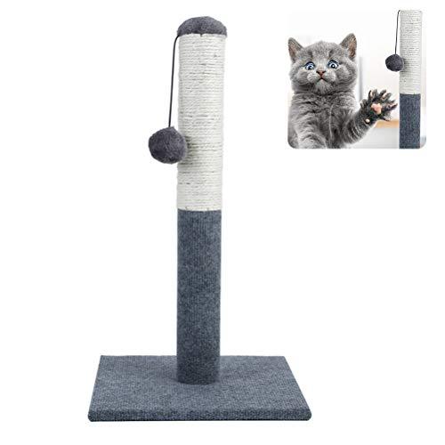 Mekta Kratzspielzeug,Dauerhafter Kratzbaum Robusta Kratzbaum mit natürlichem Sisalseil Cat Interactive Toy