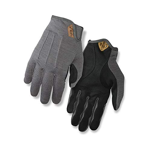 Giro D'Wool Men's Urban Cycling Gloves - Titanium (2021), Large