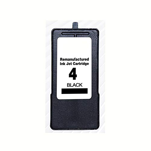 GBY inktcartridge, geschikt voor Lexmark nr. 4 en nr. 5 inktcartridges, geschikt voor Lexmark, geschikt voor Lexmark LEXMARK X2690 X3690 X4690 X5690 printer kunnen inktpatronen toevoegen, size, zwart