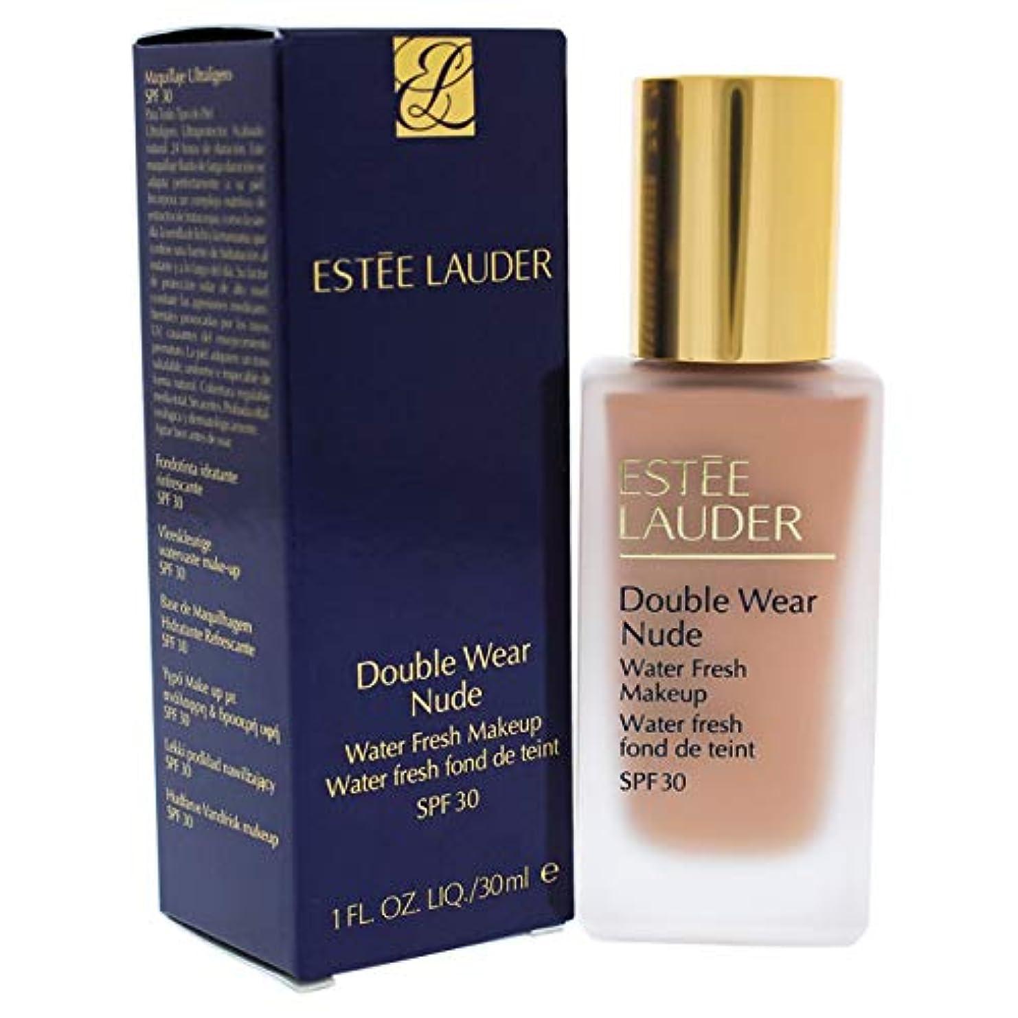 フラグラント飢えシルエットエスティローダー Double Wear Nude Water Fresh Makeup SPF 30 - # 4C1 Outdoor Beige 30ml/1oz並行輸入品