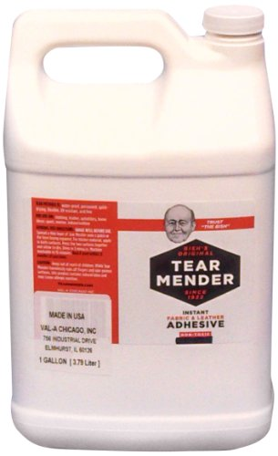 Tear Mender Instant Fabric and Leather Adhesive, 5 Gallon, TG-640