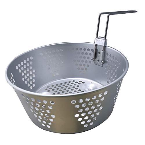 Fryer Basket for Pots & Pans 8.25' + Foldable Handle: Kettle Multi-Cooker/Steamer 06003 Replacement